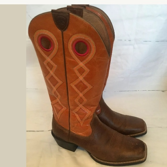 1a8414b2714 Ariat Mecate Western Cowboy Boot Square Toe 10.5